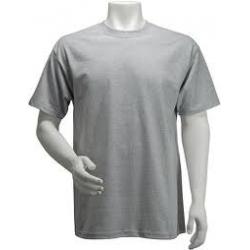 Camiseta Malha Cinza