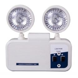 Luminária Luz De Emergência Led 2200 Lúmens Faróis Lighting